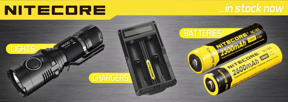 Nitecore Flashlights & Accessories