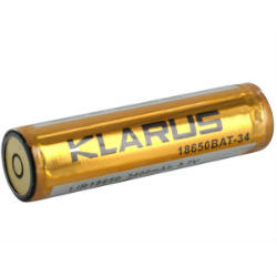 Klarus Custom Bi-Directional 18650 Battery (3400 mAh)