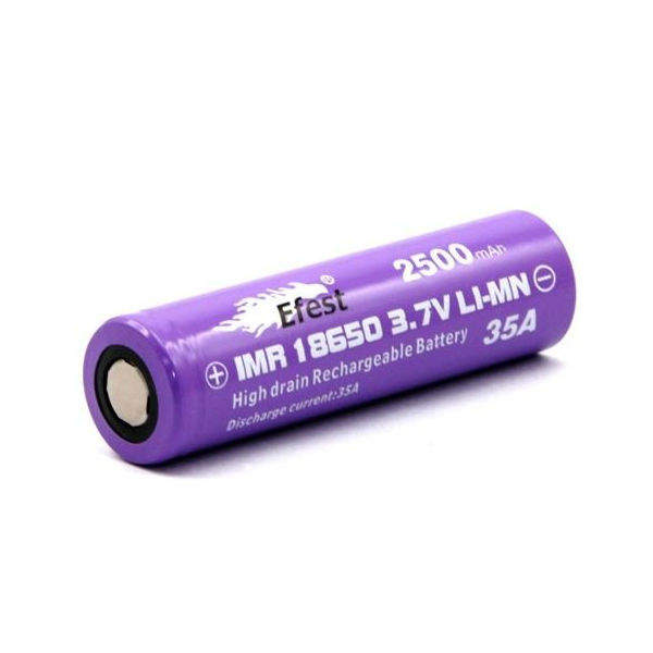 Efest Li-Ion 18650 Battery (2500mAh)
