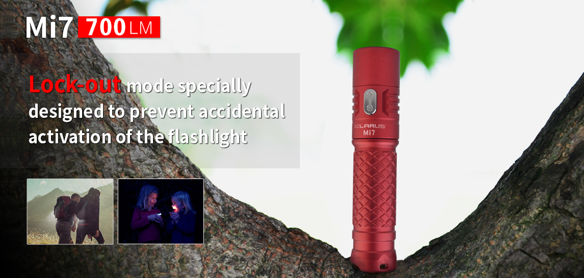 Best EDC Flashlight Klarus Mi7