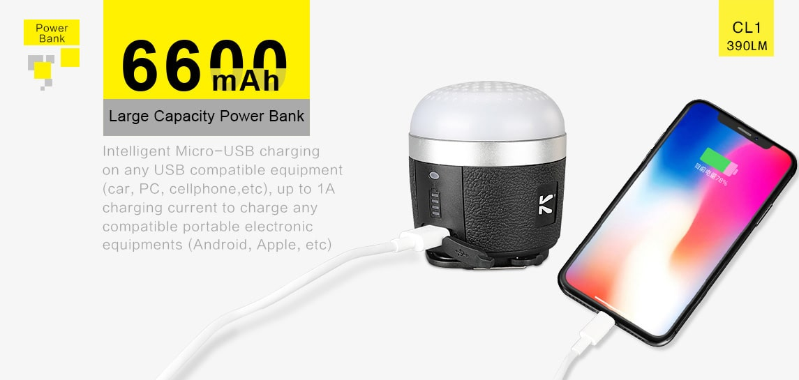 best lantern and power bank