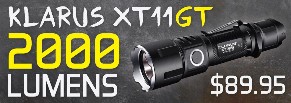 Klarus XT11GT Flashlight