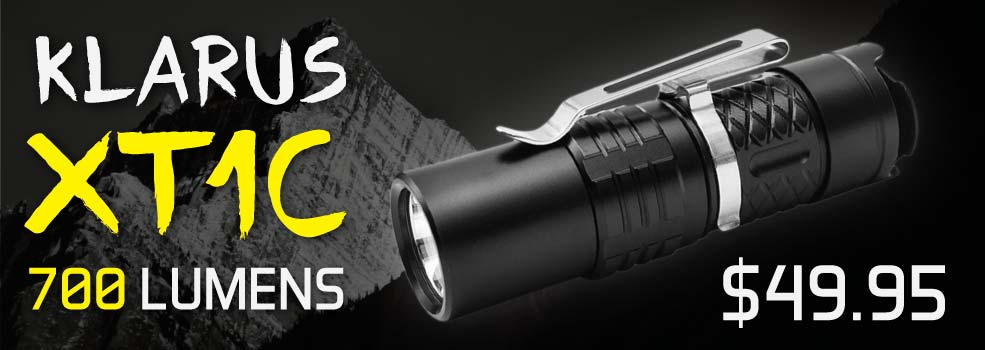 Klarus XT1C Flashlight
