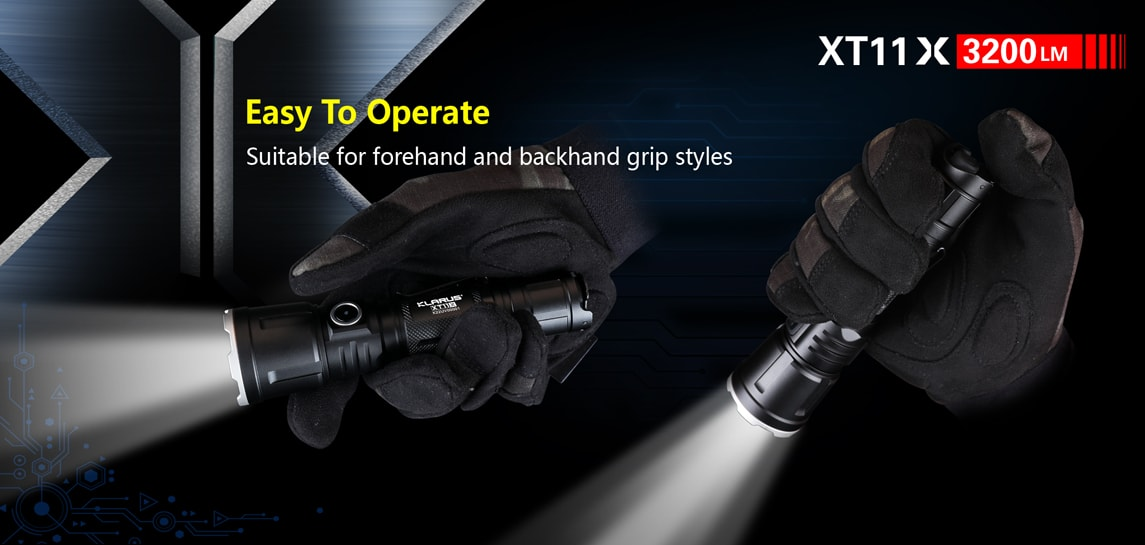 Best LED Flashlight Klarus XT11X