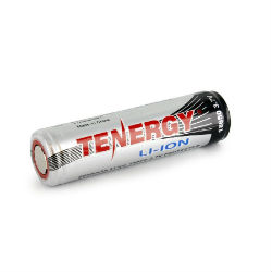 Tenergy Li-Ion 18650 Battery (2600mAh)