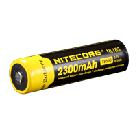 Nitecore NL183 18650 Li-Ion Battery (2300 mAh)